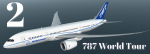B787 World Tour 2nd Place