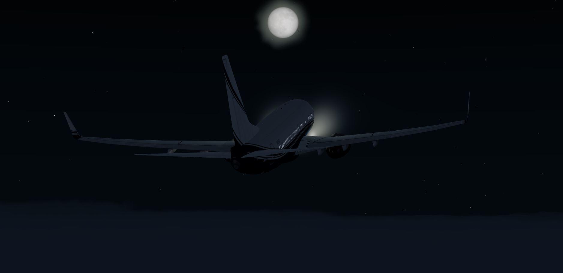 A BBJ work in progress #3 (iFly 737 64bit)